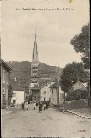 Saint-Maurice (Vosges), Rue de l'Église