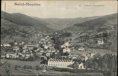 Saint-Maurice, Vallée des Charbonniers