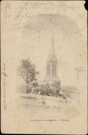 St-Maurice-sur-Moselle, L'Église