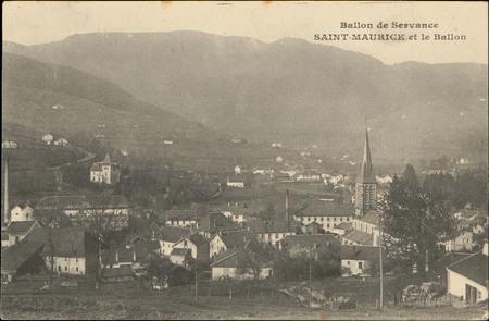 Ballon de Servance, Saint-Maurice et le Ballon