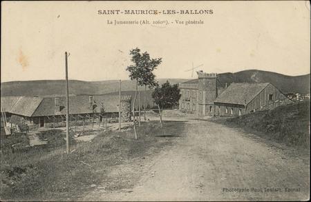 Saint-Maurice-les-Ballons, La Jumenterie (Alt. 1060m), Vue générale