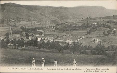 St-Maurice-sur-Moselle, Panorama pris de la Route du Ballon […]