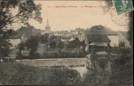 Saint-Ouen-les-Parey, Le Barrage sur l'Angers