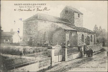 Saint-Ouen-les-Parey, Église de Parey (Xe siècle)
