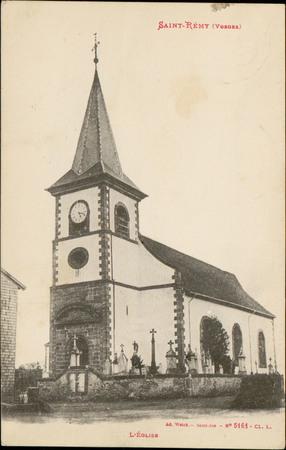 Saint-Rémy (Vosges), L'Église