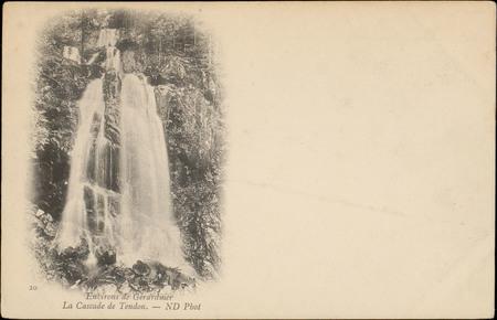 Environs de Gérardmer, La Cascade de Tendon