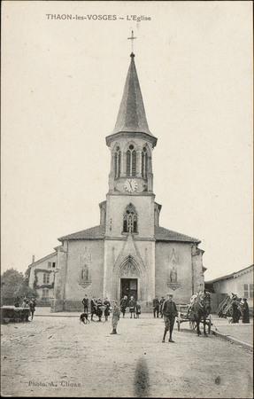 Thaon-les-Vosges, L'Église