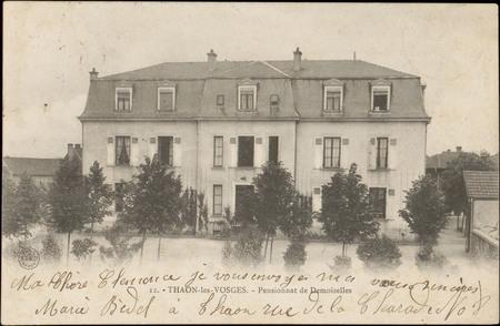 Thaon-les-Vosges, Pensionnat de Demoiselles
