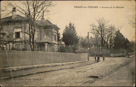 Thaon-les-Vosges, Avenue de la Moselle