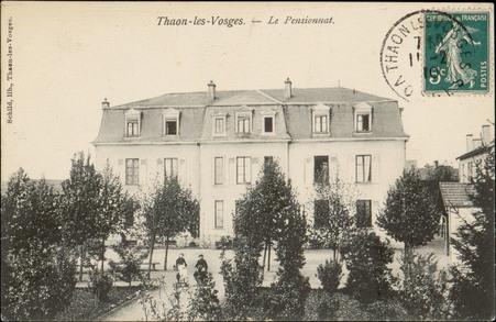 Thaon-les-Vosges, Le Pensionnat