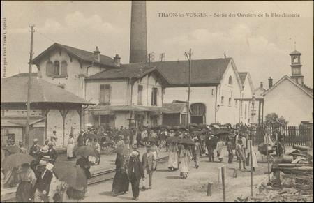 Thaon-les-Vosges, Sortie des Ouvriers de la Blanchisserie