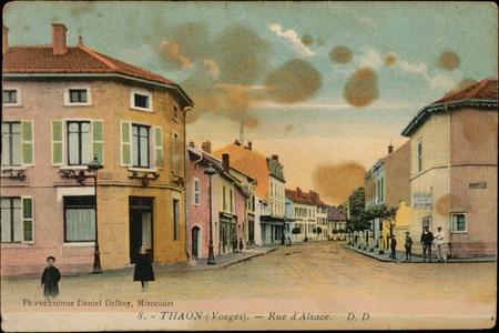 Thaon (Vosges), Rue d'Alsace