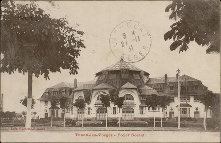 Thaon-les-Vosges, Foyer social