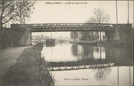 Thaon-les-Vosges, Le Pont du Canal de l'Est