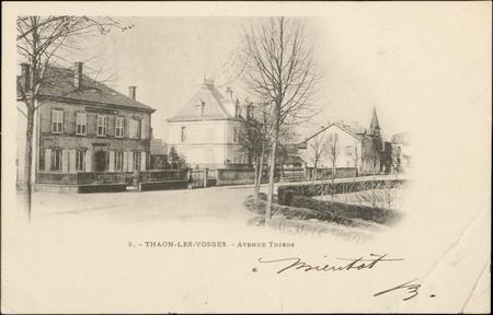 Thaon-les-Vosges, Avenue Thiers