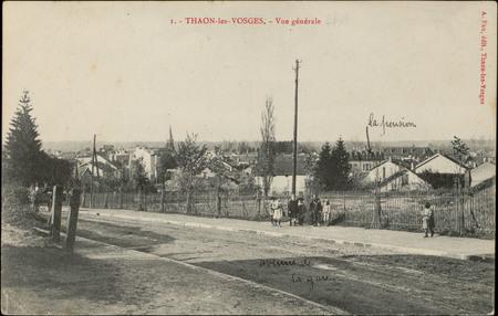 Thaon-les-Vosges, Vue générale