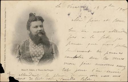 Madame P. Delait, à Thaon-les-Vosges