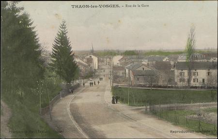 Thaon-les-Vosges, Rue de la Gare