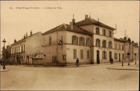 Thaon-les-Vosges, L'Hôtel de Ville