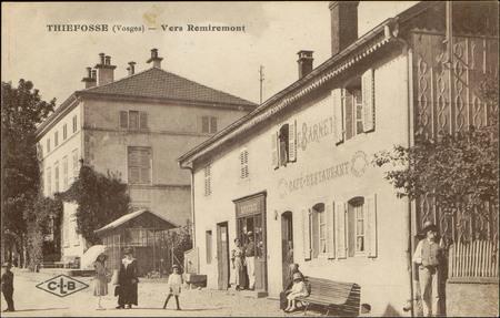 Thiéfosse (Vosges), Vers Remiremont