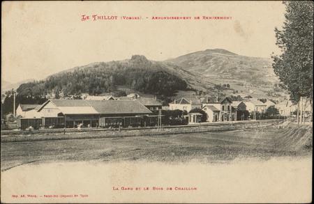 Le Thillot (Vosges), Arrondissement de Remiremont, La Gare et le Bois de C…