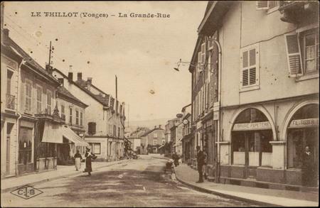 Le Thillot (Vosges), La Grande-Rue