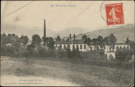 Le Thillot (Vosges), Usines de la Courbe