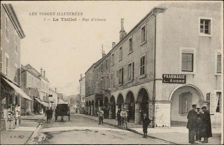 Le Thillot, Rue d'Alsace