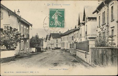 Le Thillot (Vosges), Faubourg du Ménil