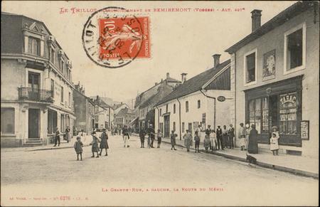 Le Thillot, Arrondissement de Remiremont (Vosges), Alt. 497m, La Grande-Ru…