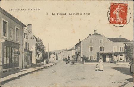 Le Thillot, La Place du Ménil