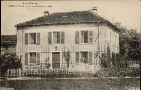 Thuillières, Maison d'Eve Lavallière