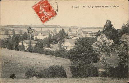 Vue générale de Thuillières