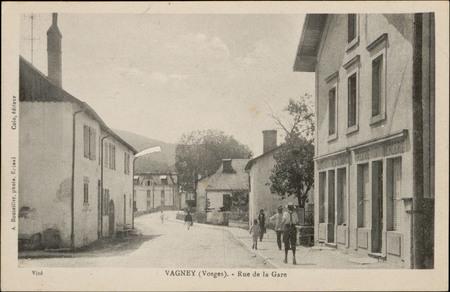 Vagney (Vosges), Rue de la Gare