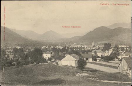 Vagney, Vue Panoramique, Vallée de Rochesson