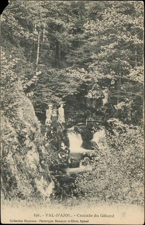 Val d'Ajol, Cascade du Géhard