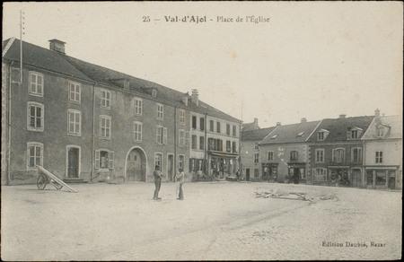 Val-d'Ajol, Place de l'Église