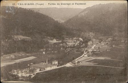 Val-d'Ajol (Vosges), Vallée de Courupt et Faymont