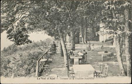 Le Val-d'Ajol, Terrasse de la Feuillée Nouvelle