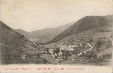 Les Vosges, Le Valtin, Vallée du Rudlin