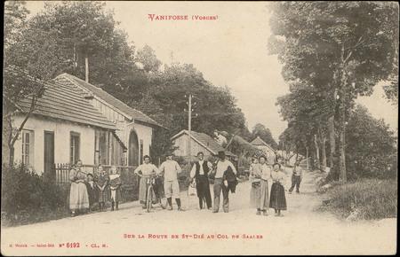 Vanifosse (Vosges), Sur la Route de St-Dié au Col de Saales