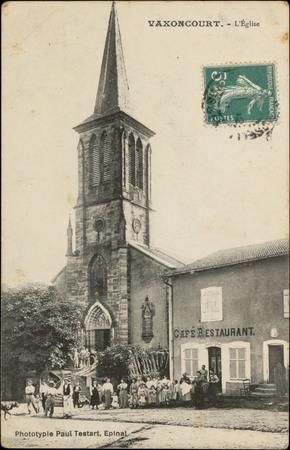 Vaxoncourt, L'Église