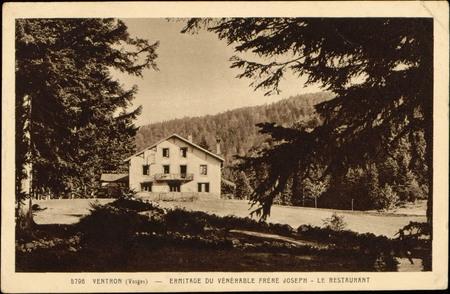 Ventron (Vosges), Ermitage du Vénérable Frère Joseph, Le Restaurant