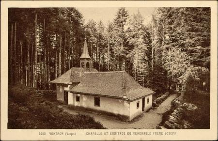 Ventron (Vosges), Chapelle et ermitage du Vénérable Frère Joseph