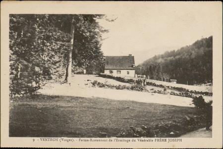 Ventron (Vosges), Ferme-Restaurant de l'Ermitage du Vénérable Frère Joseph