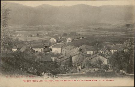Vieux-Moulin (Vosges), près de Senones et de la Petite Raon, Le Village