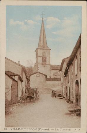 Ville-sur-Illon (Vosges), Le Clocher
