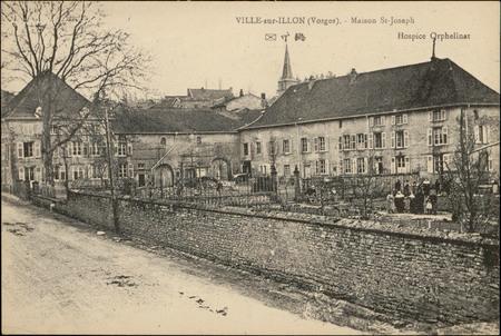 Ville-sur-Illon (Vosges), Maison St-Joseph, Hospice Orphelinat