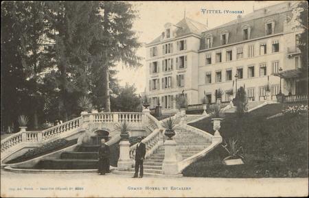 Vittel (Vosges), Grand Hôtel et Escalier