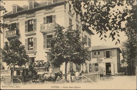 Vittel, Hôtel Beau-Séjour